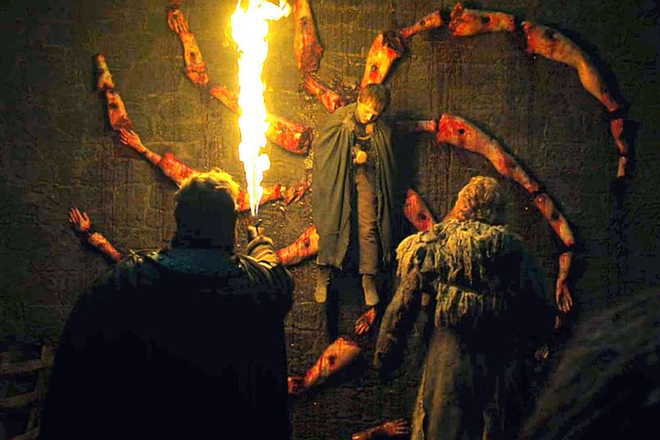 Лорд Севера, превращенный в послание Короля Ночи