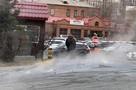 В центре Владивостока прорвало теплотрассу