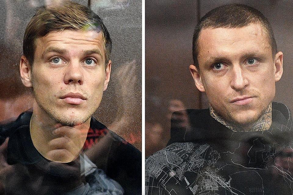 Суд в Москве оставил Кокорина и Мамаева под арестом до 25 сентября
