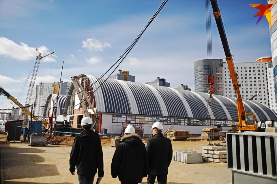 Сегодня строители заканчивают обустройство некоторых вспомогательных объектов вторых Европейских игр, которые пройдут в Беларуси.