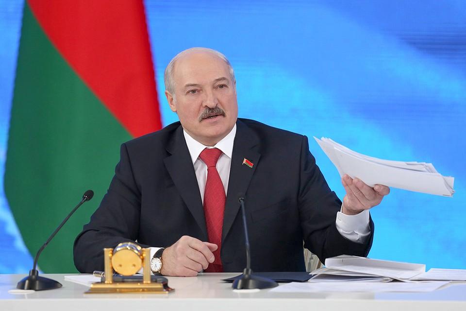 Президент обращается с ежегодным посланием к белорусскому народу и Национальному собранию. Фото: belta.by