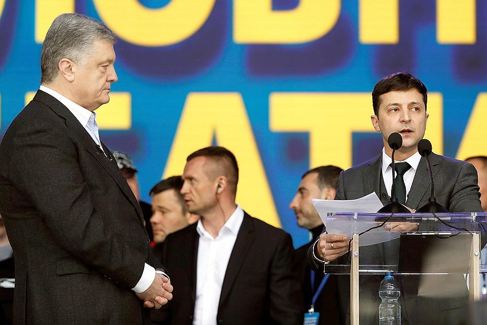 Прошли дебаты кандидатов в президенты Украины