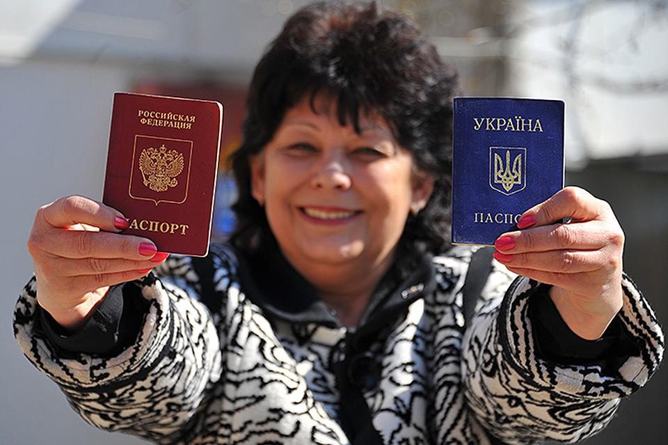 Если люди получат паспорта - они смогут получить и социальные выплаты — но для этого нужно специальное решение в Москве