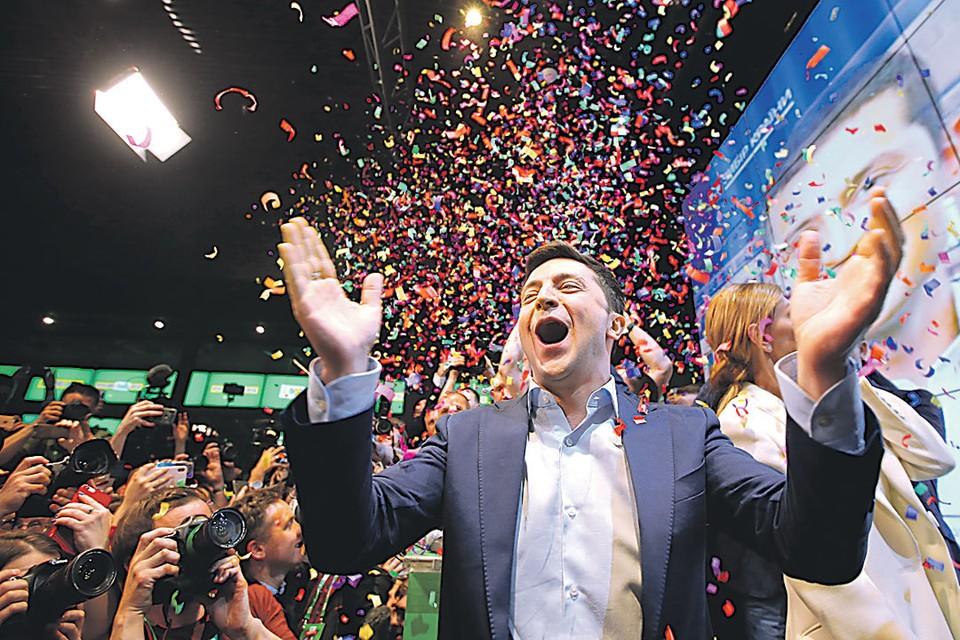 Во втором туре Зеленский набрал более 70 процентов голосов.
