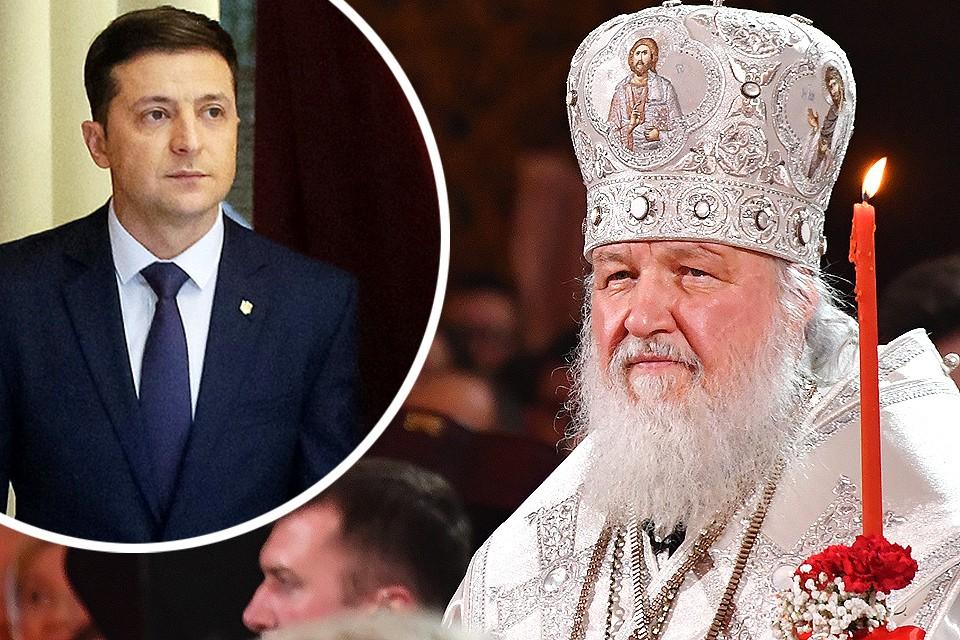 Патриарх Кирилл поздравил Зеленского с победой в выборах.