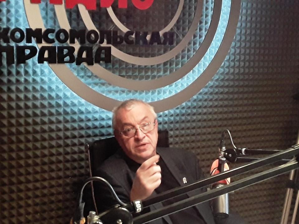 Михаил Витальевич Михайловский, главный научный сотрудник НИИИТО имени Цивьяна.