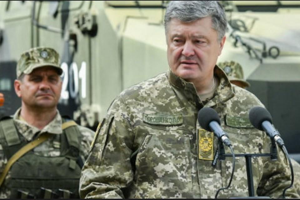 Картинки по запросу день піхоти 6 травня і петро порошенко