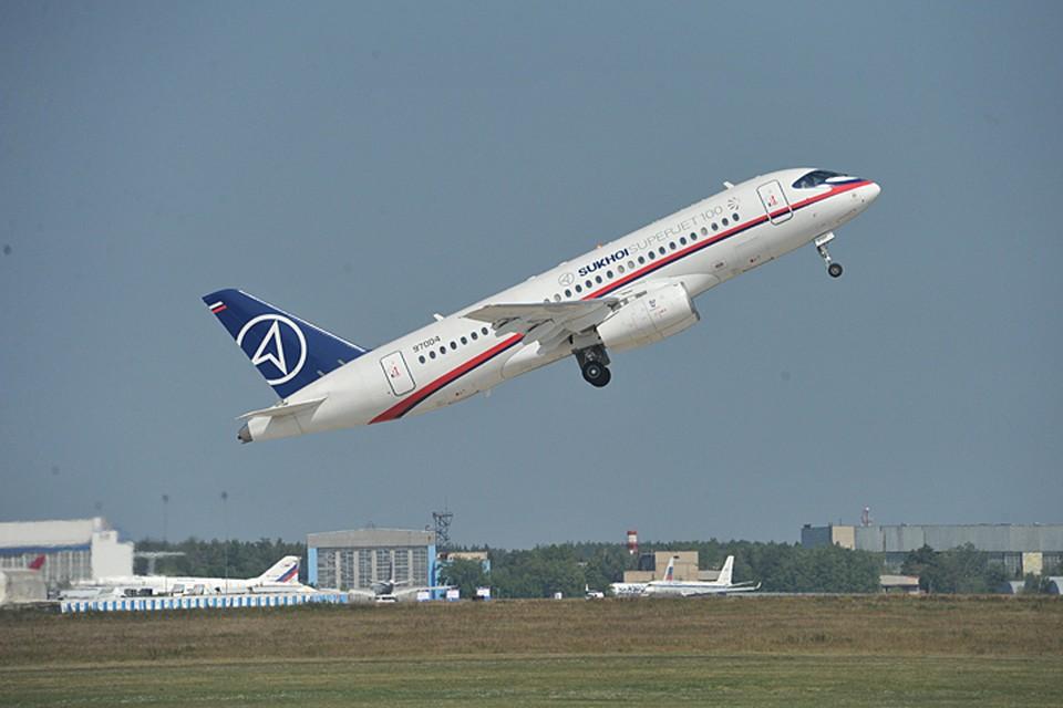 Superjet 100 пользуется популярностью у региональных авиакомпаний