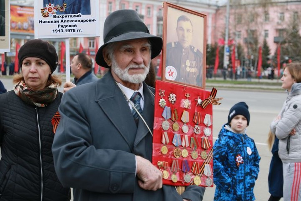 В колонне пройдут свыше 40 тысяч жителей и гостей Барнаула.