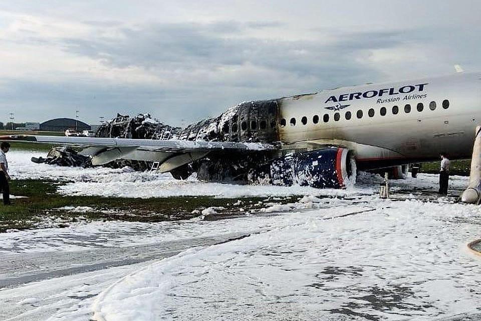 Самолет «Москва – Мурманск» загорелся при посадке в аэропорту «Шереметьево», погиб 41 человек