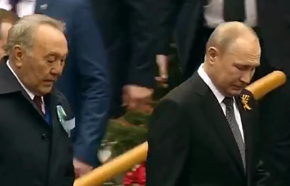 Назарбаев приехал в Москву на парад Победы