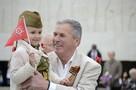 Больше трех тысяч человек в Ялте пришли на Холм Славы, чтобы почтить память героев Великой Отечественной