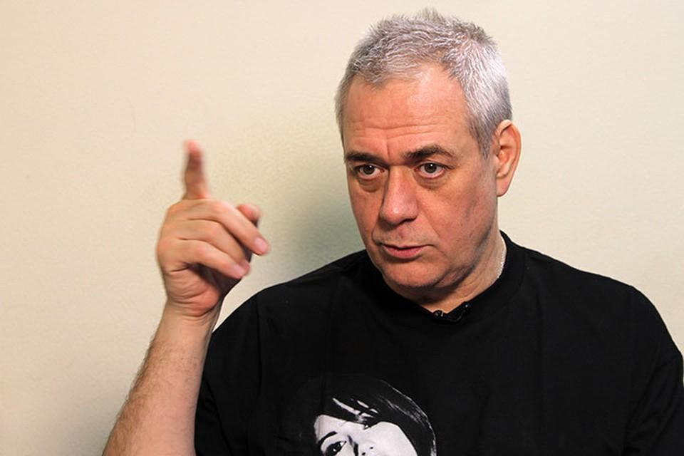 Телеведущий и главред радио «Говорит Москва» Сергей Доренко