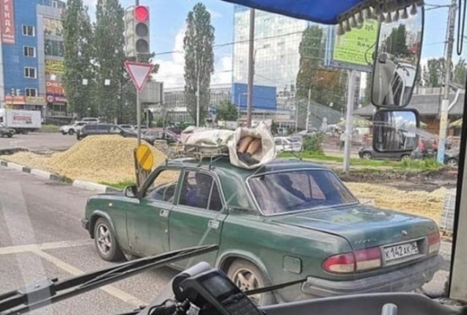 "фото из сообщества ""Аварии/ДТП/Воронежа"" соцсети ""Вконтакте"""