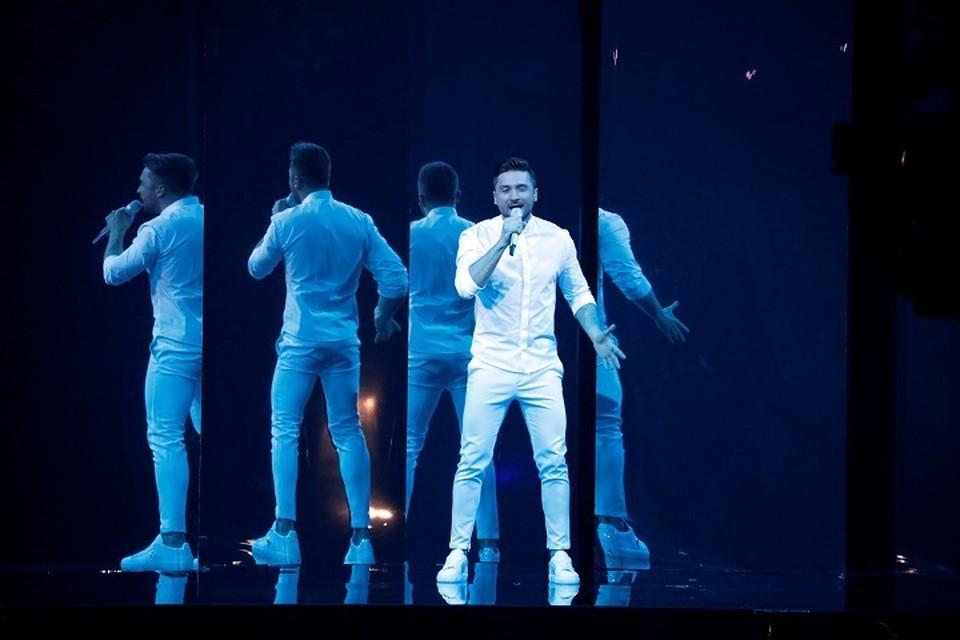 Сергей Лазарев отлично выступил во втором полуфинале Евровидения