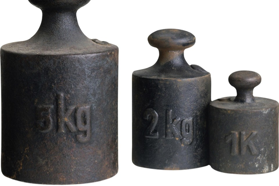Граммы и килограммы потерли материальную основу