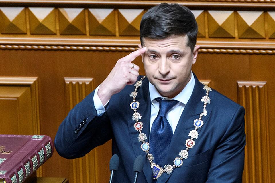 Зеленскому, похоже, хочется примерить на себе шапку Богдана Хмельницкого