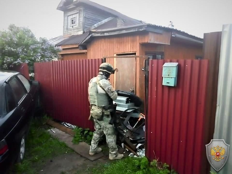 Во время КТО в Кольчугино ликвидировали двух готовивших теракт боевиков
