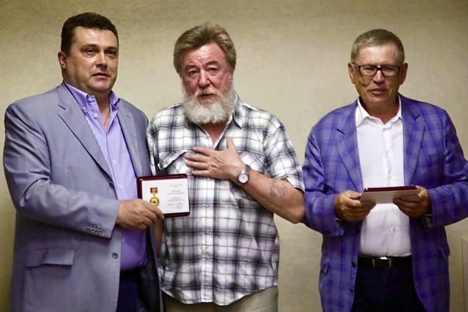 Награждается Николай Варсегов
