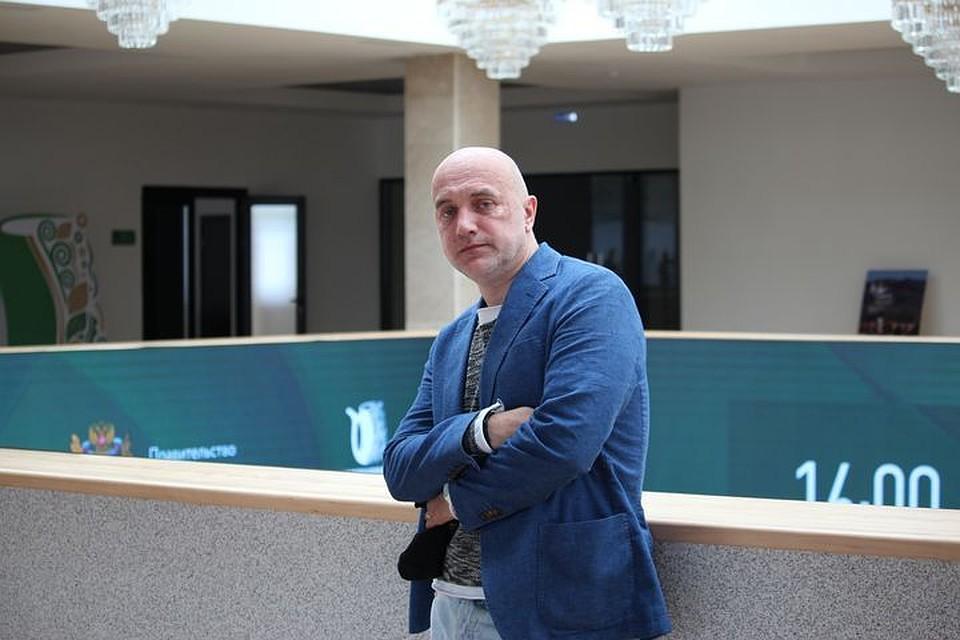 """Захар Прилепин на кинофестивале """"Герой и время"""" в Железноводске."""