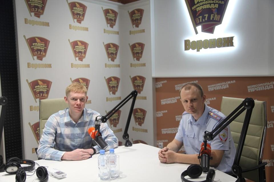 Иван Беляев и Станислав Шевченко.