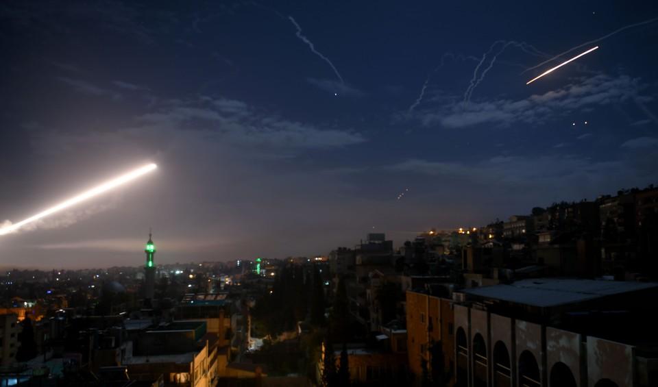Сирийские ПВО сбили вражеские ракеты