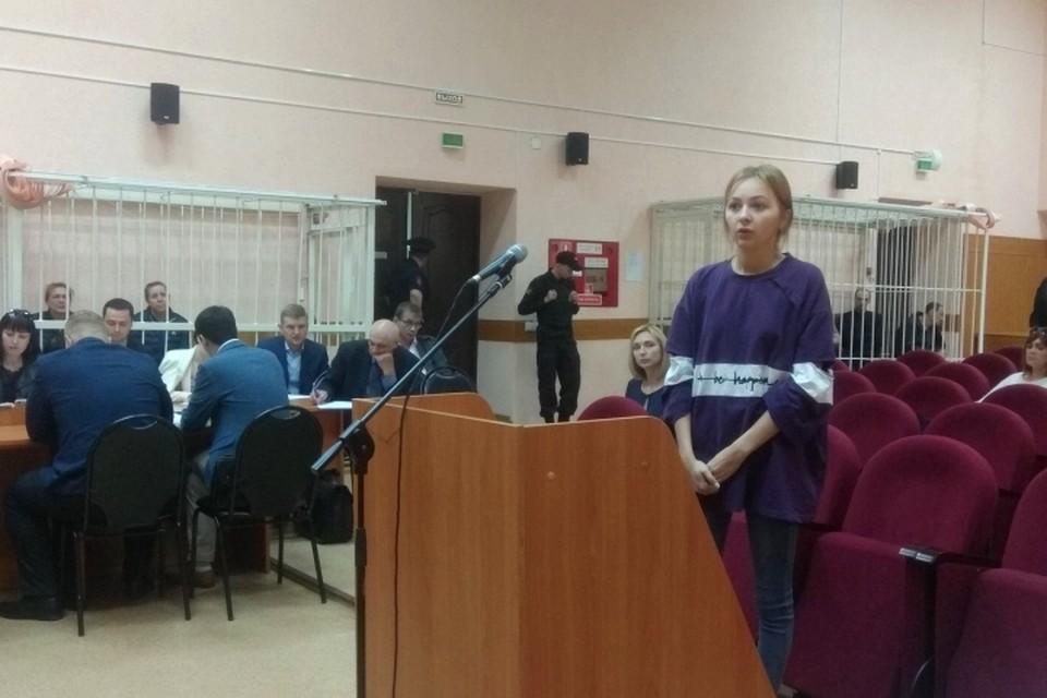 """Работница """"Зимней вишни"""" попросила нестрогого наказания для Богдановой и Судденок"""