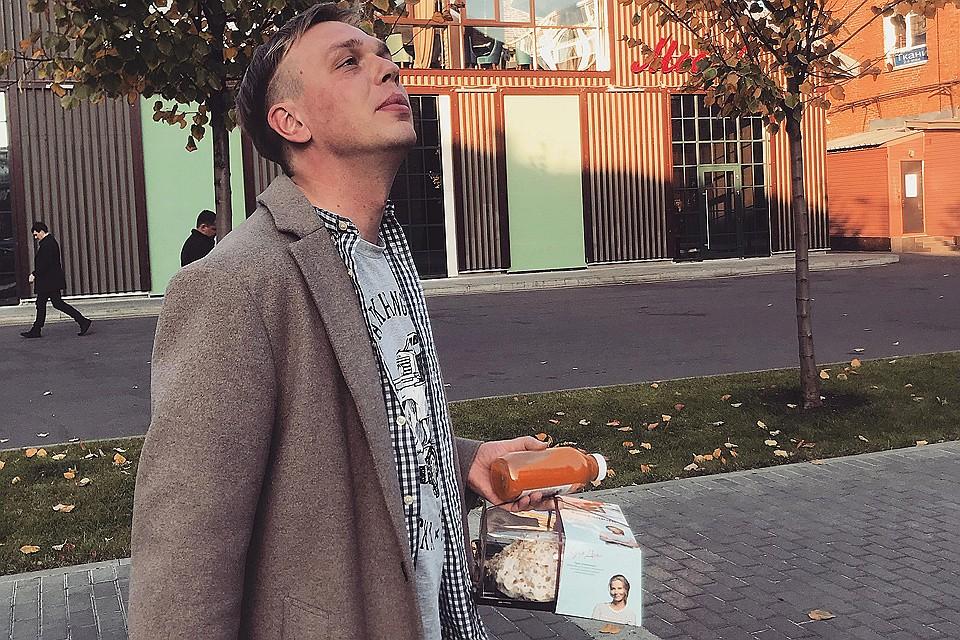 Журналист Иван Голунов.