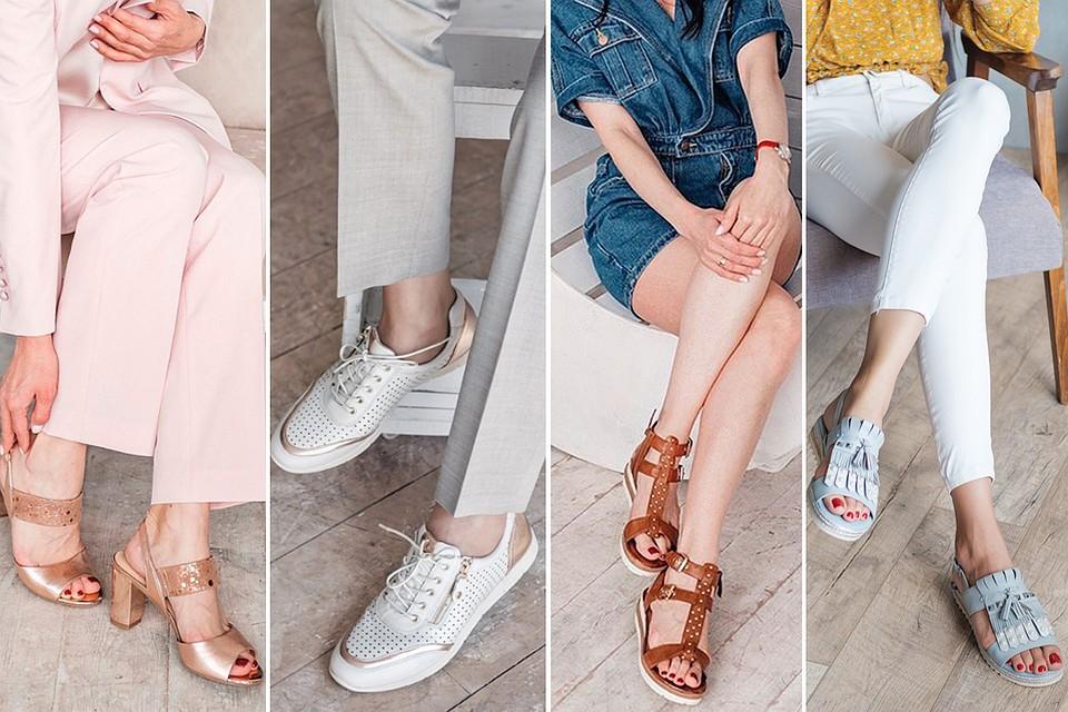 9529a2942 Обувь лето-2019: фотообзор самых модных новинок обуви для жары