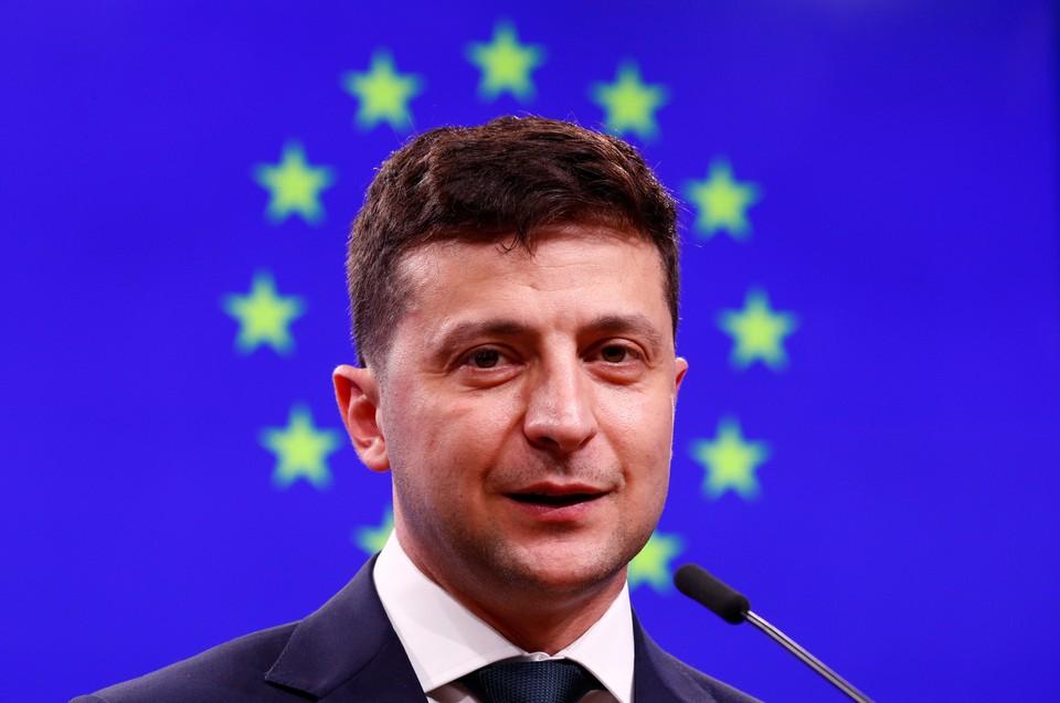Владимир Зеленский - новый президент Украины