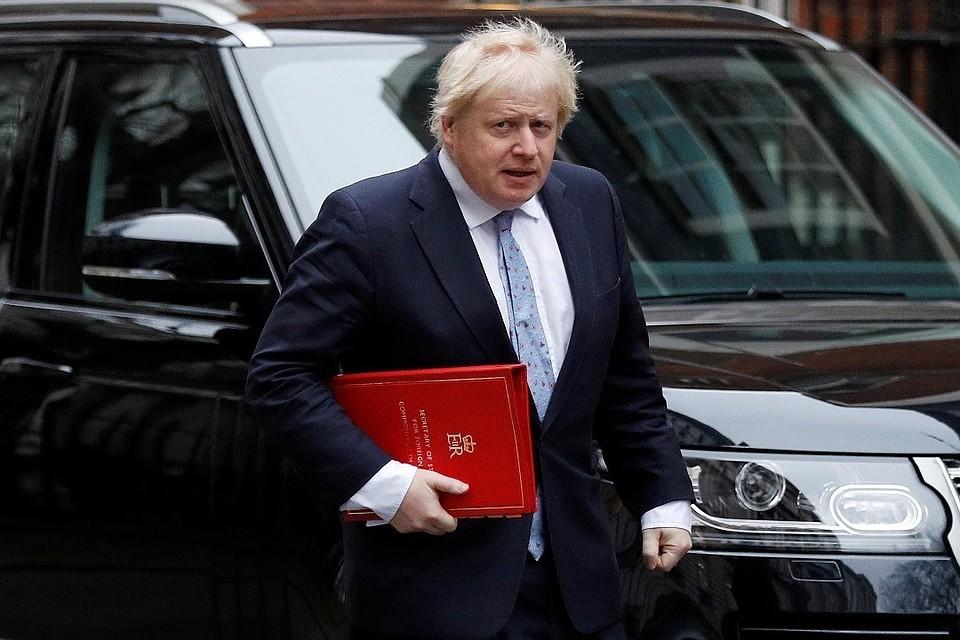 Экс-министр иностранных дел Великобритании Борис Джонсон