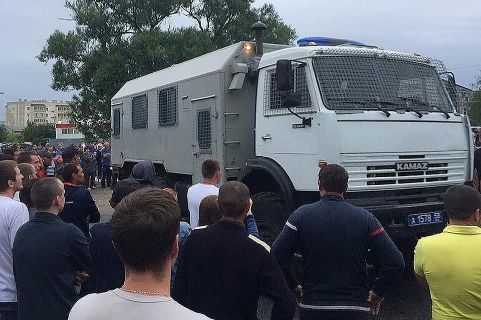 Путина проинформировали об инциденте в селе Чемодановка