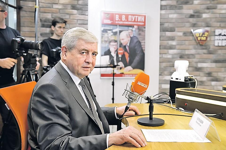 Владимир Семашко в эфире Радио «Комсомольская правда» (97,2 FM) пригласил всех болельщиков в Минск - там будет интересно.