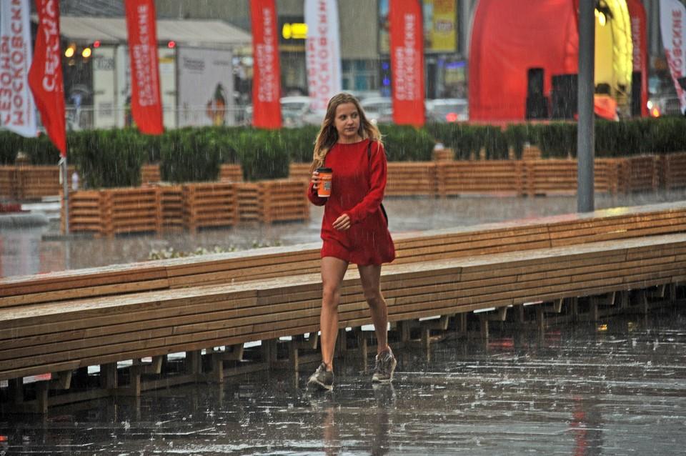 В Москве объявили повышенный уровень погодной опасности