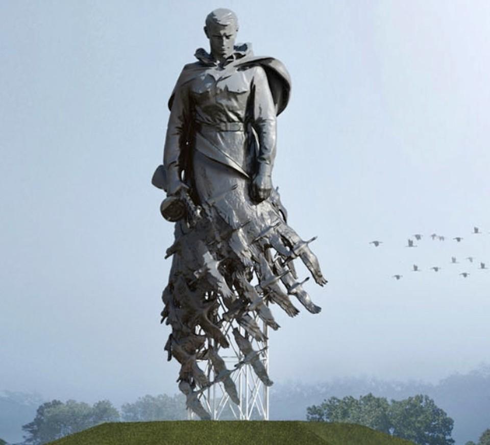 Вот таким будет мемориал во Ржеве. Графика: пресс-служба ПТО