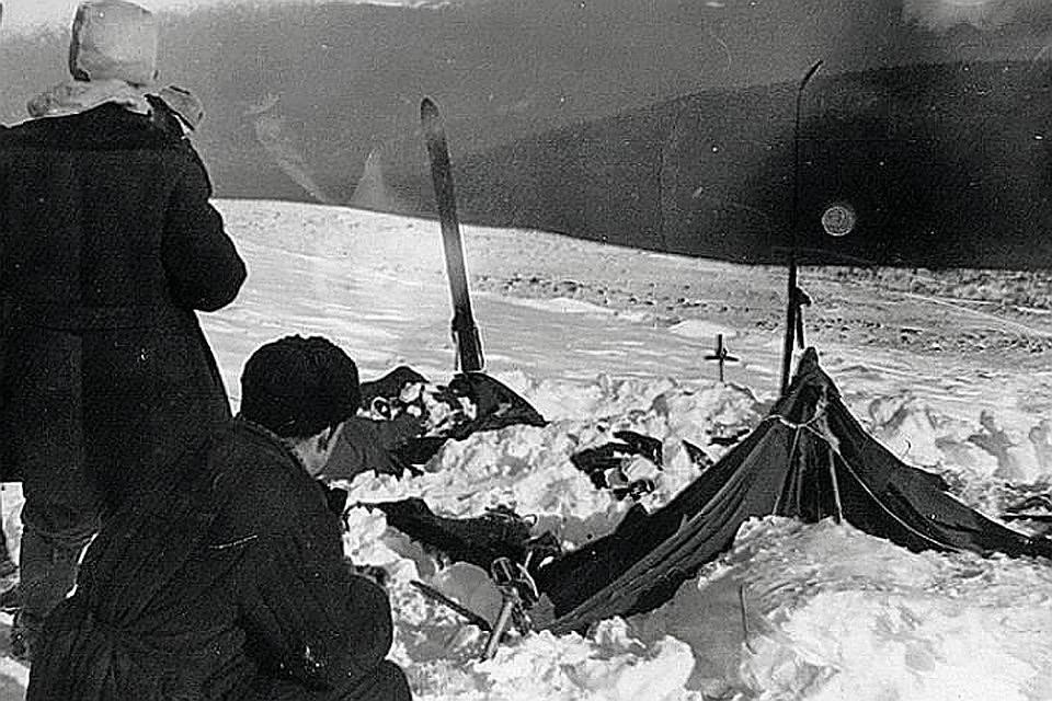 """Таким обнаружили лагерь """"дятловцев"""" спасатели много лет назад"""