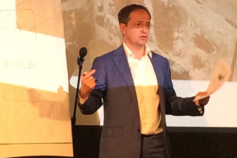 Министр культуры Владимир Мединский на показе фильма «Смоленская оборона».