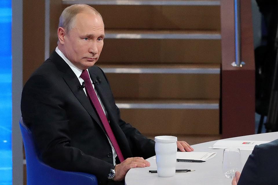 Президент ФР Владимир Путин. Фото: Михаил Клементьев/ТАСС
