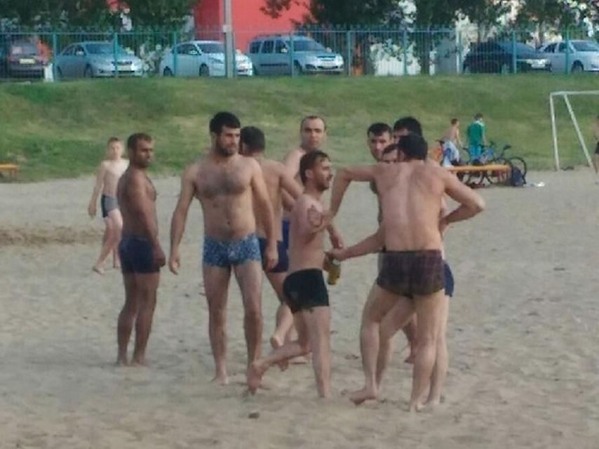 На пляже в Балаково драка вспыхнула среди отдыхающих. Фото соцсетей