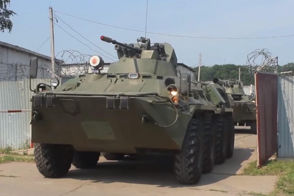 Военные опубликовали видео внезапной проверки боеготовности Центрального военного округа. Фото: скриншот с видео