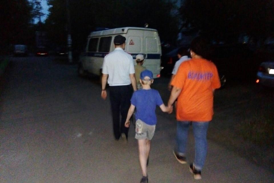 """В Дзержинске двое мальчиков сбежали из дома из-за побоев. ФОТО: ПСО """"Волонтер-НН"""""""