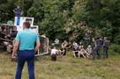 На трассе в Ростовской области перевернулся автозак с заключенными