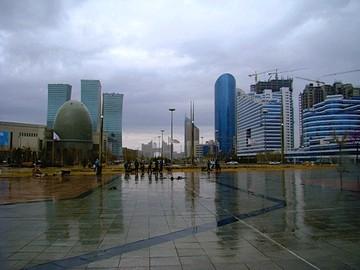 Какая погода будет в Казахстане в июле