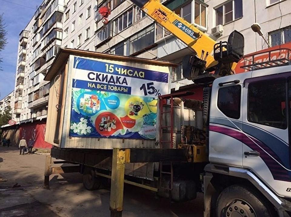 Сергей Шумков отвечал за снос нелегальных киосков в Челябинске, но работа велась недостаточно эффективно.
