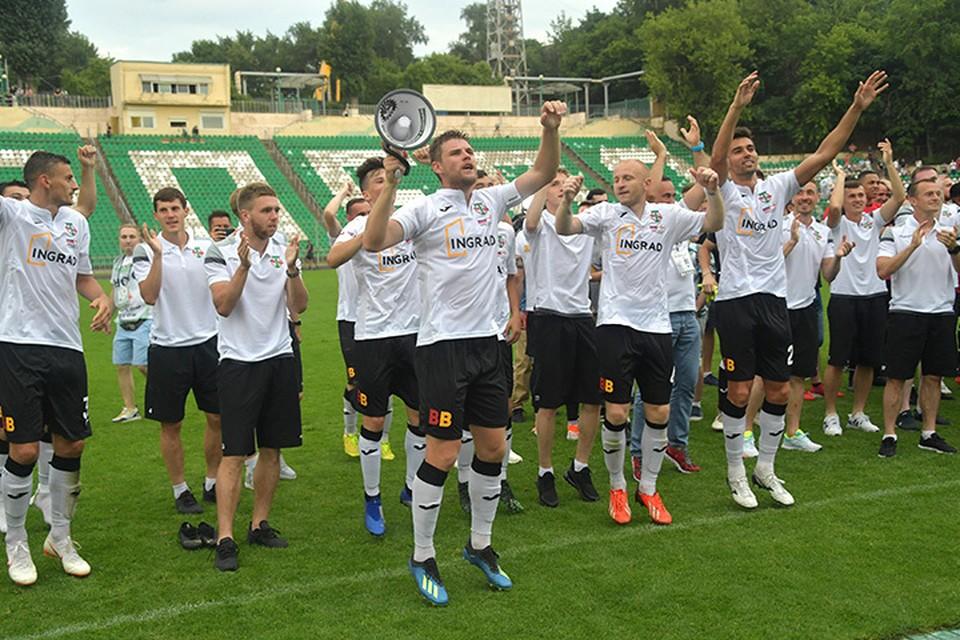 В воскресенье стартовал чемпионат России по футболу в Пером дивизионе (ФНЛ), куда вернулось легендарное московское «Торпедо»