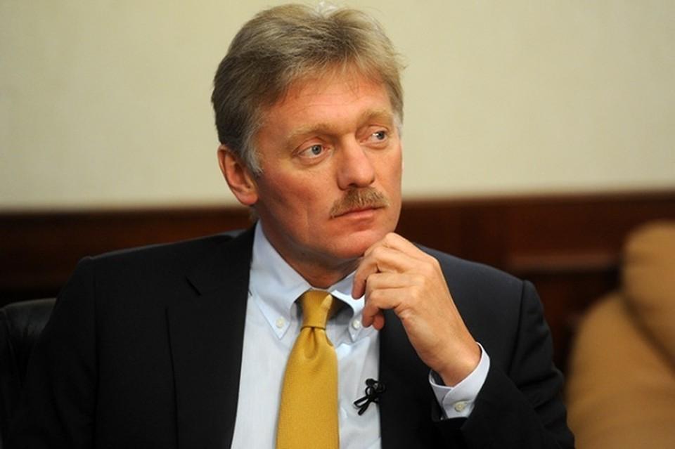 Пресс-секретарь президента РФ Владимир Песков.