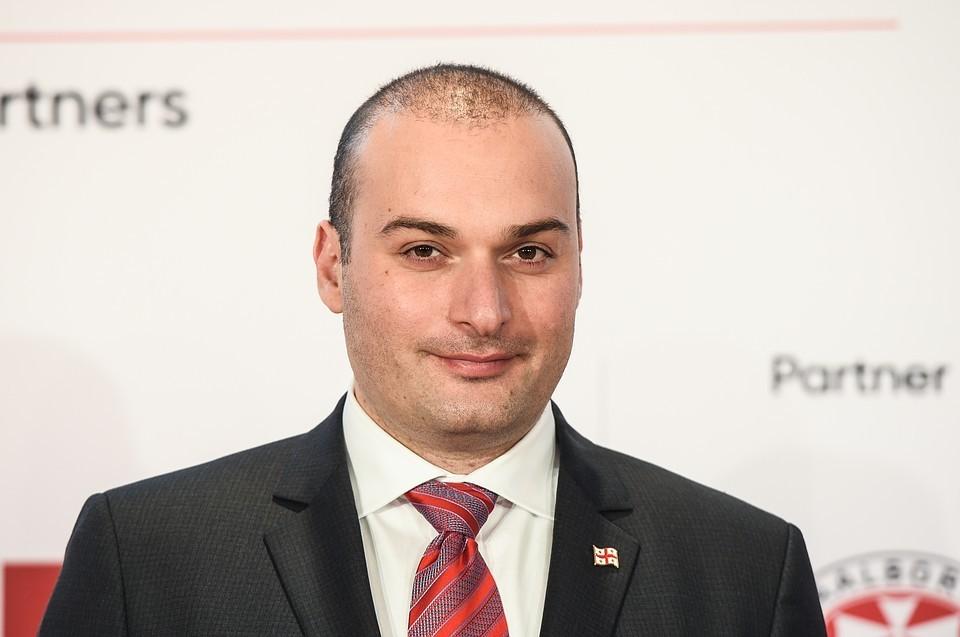 Премьер Грузии Мамука Бахтадзе.