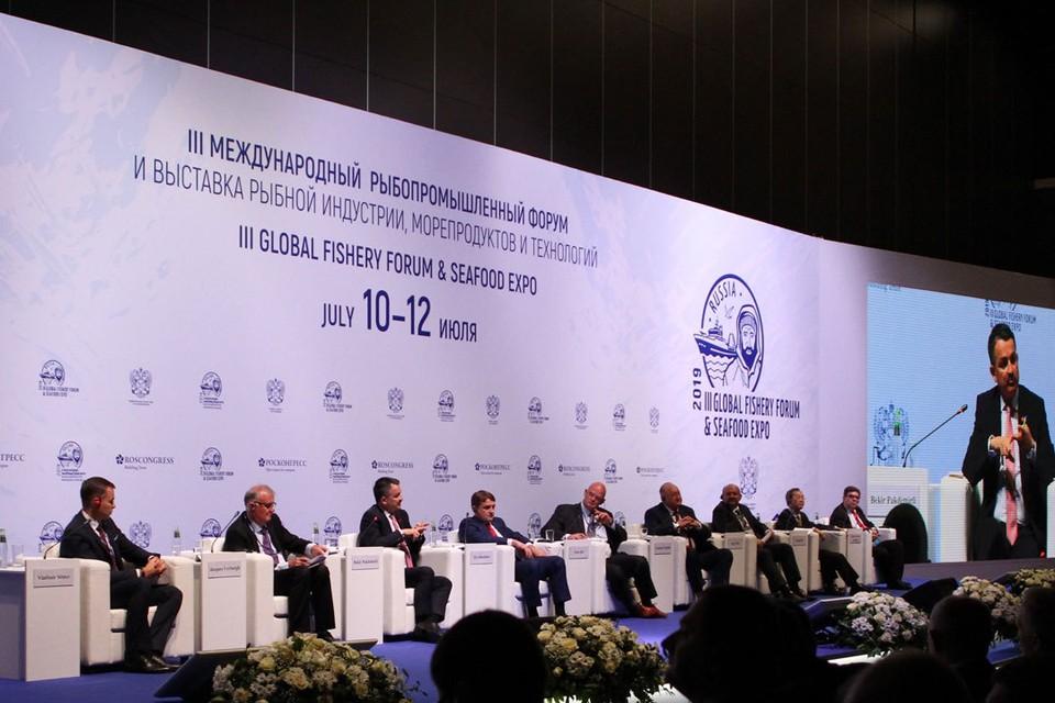 Третий Международный рыбопромышленный форум стартовал 10 июля в Санкт-Петербурге.