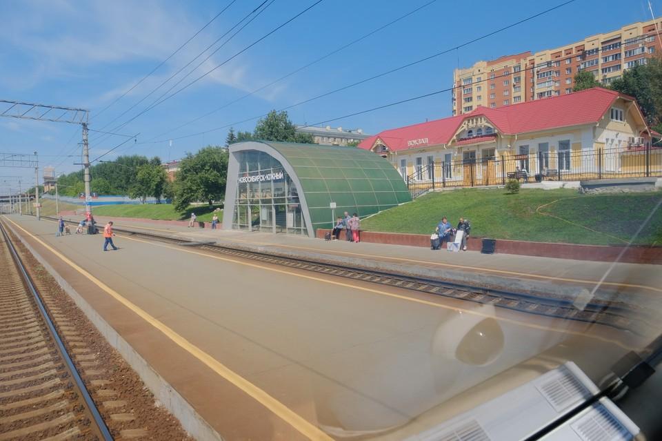 Доступность левобережья будет обеспечена железнодорожным транспортом. Фото: nso.ru