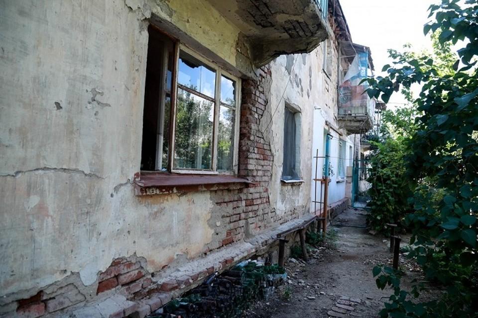 В Астрахани аварийным признаны более 300 домов, это только официально. Фото: правительство Астраханской области
